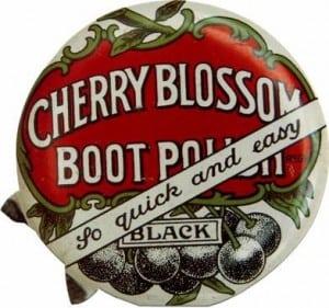 Boot Polish tin lid